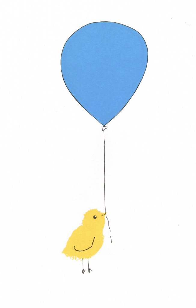 Chick and Balloon