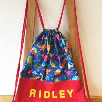 Nursery.bag.dino